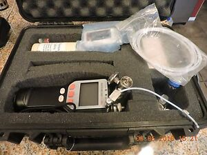 Vapor Analyzer Gas Detector A Photovac 2020 Pro Plus With Case