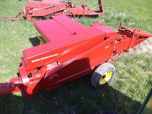 New Holland 310 Square Hay Baler Used Last Fall For Straw Bales