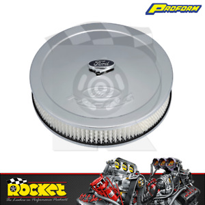 Proform 13 Fits Ford Racing Air Cleaner Assembly Chrome Pr302 350