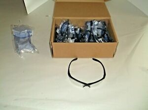 Lot Of 10 New Willson 11150915 Safety Glasses Clear Antifog j
