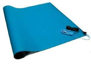 Bertech Anti Static Two Layer Rubber Mat Kit With A Wrist Strap And A Grounding