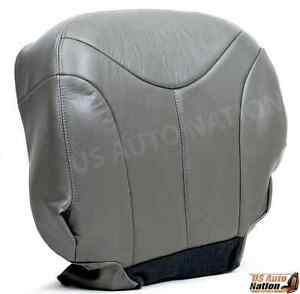 1999 2000 2001 2002 Gmc Yukon Xl Slt Driver Side Bottom Leather Seat Cover Gray