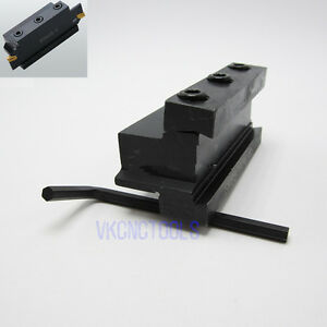 Smbb2526 Cut Off Tool Holder Block For Holding Spb226 326 426 526s Parting Blade