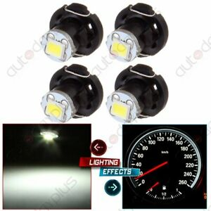 4x White T4 T4 2 Neo Wedge 2835 Led A C Climate Heater Control Light Bulb Lamp