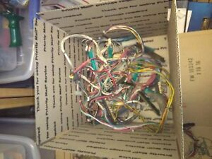 Box Of Old Arcade Pcb Wire Connectors 1