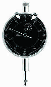 2 Dial Travel Indicator Black Face