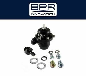 Aem Adjustable Fuel Pressure Regulator Black For Acura Honda 25 301bk