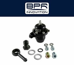 Aem Adjustable Fuel Pressure Regulator Black For Acura Honda 25 304bk