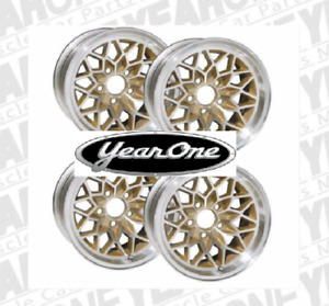 Yearone Gold Snowflake Wheels 17 X 9 Cast Aluminum Set Of 4