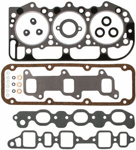 1965 May 1969 Fits Ford Tractor 201 Diesel 3 Cyl Victor Reinz Head Gasket Set