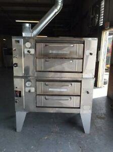 Baker s Pride Double Deck Pizza Ovens Mdl 805