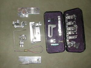 Vintage Greist Sewing Machine Attachments Tools Parts Kit