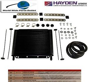 Automatic Transmission Oil Cooler Hayden 678 oc 1678 Plate And Fin Type X 10