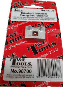 T E Tools Timing Belt Tension Tool 98700 New Suitable For Hyundai Engines