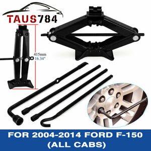 Scissor Jack Spare Tire Tool For 2014 2008 2013 2011 2012 Ford F 150 all Cabs