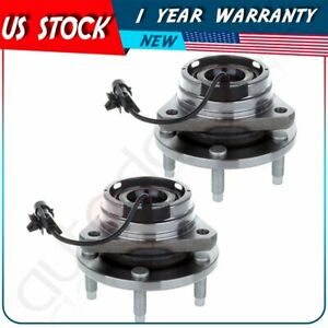 Pair Of 2 New Front Wheel Hub Bearing Assembly For Malibu Aura G6 W