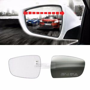 Rearview Blind Spot Wide Curved Side Glass Mirror For Kia 2001 2006 Optima