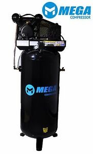 Megapower Air Compressor Mp 6060v 60 Gallon 3hp 1 Phase 11 8 Cfm