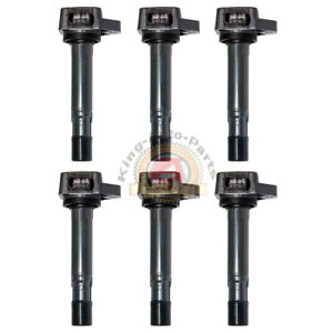New Ignition Coil Acura Mdx Honda Civic Pilot Ridgeline Saturn Vue Uf400 6pcs