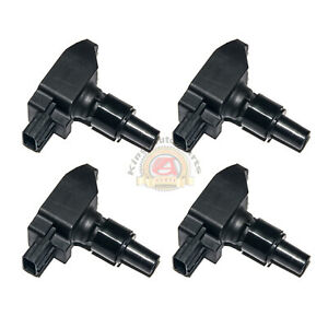 New Ignition Coil Pack Set Of 4 For 04 09 Mazda Rx 8 Uf501 N3h118100 Ic023