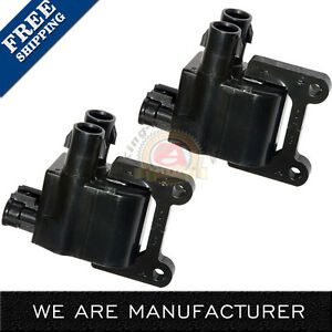 Uf180 Ignition Coil Pack Set Of 2 Toyota Camry 2001 2000 99 98 97 4 Runner