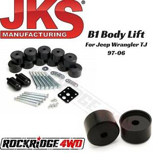 Jks B1 1 25 Body Lift For Jeep Wrangler Tj Unlimited 1997 2006 9904 Usa Made