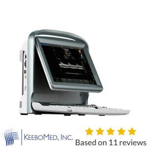 Color Doppler Vascular Ultrasound Scanner With Two Probes Battery Chison Eco5