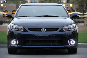 Angel Eye Fog Lamps Halo Driving Lights Kit For 2011 2012 2013 Scion Tc