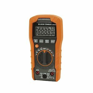 New Klein Tools Mm400 Digital Multimeter Auto ranging 400a