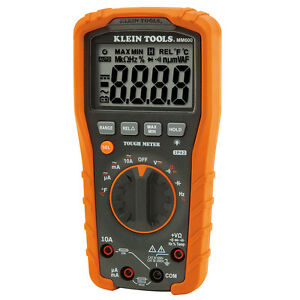 New Klein Tools Mm600 Digital Multimeter Auto ranging 1000v