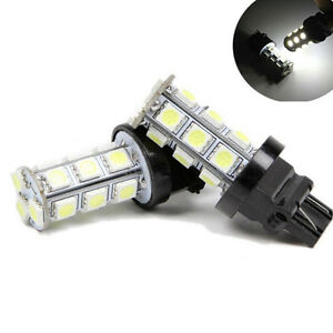 2 X White 3157 3156 3057 3457 18smd 5050 Led Bulb Brake Reverse Back Up Light