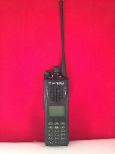 Motorola Xts 3000 Radio Talkie 800 Mhz Display New Antenna