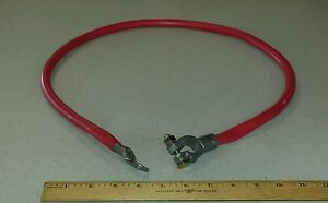 Cnh America L100862 Red 1 0 storage Battery Lead Booster Cable W 3 4 Lug
