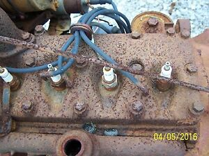 International Farmall Cub Tractor Engine