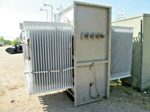 Ge 3000 Kva Substation Transformer 13800 X 600 Volt make Offer T683
