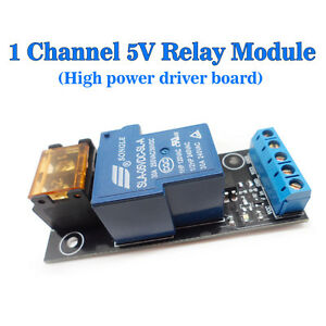 5v Channel High Power Driver Board Relay Module Isolation Relay Control Module