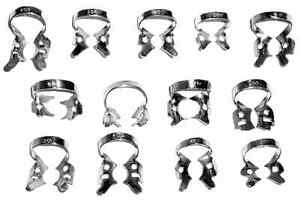45 Pcs Endodontic Rubber Dam Clamps Of Your Choice Dentist Instrument Free Ship