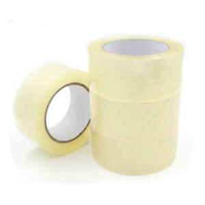 72 Big Rolls Of Clear 2 48mm X 66m Strong Packaging Sticky Sellotape Tape