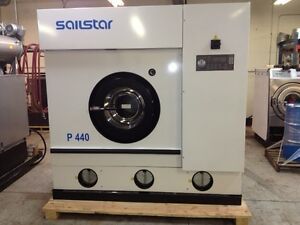 New Sailstar P440 Continuous Distillation Perc Dry Cleaning Machine
