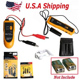 Usa Shipping Kolsol F02 Underground Cable Wire Locator Tracker Lan With Earphone