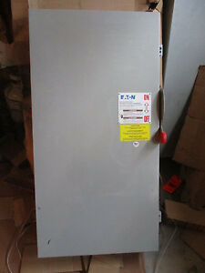 Cutler Hammer Dh325ngk 400 Amp 240 Volt Fusible 3 Phase Disconnect New