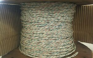 25 Ft Length M27500 16b2u00 16awg Power Cable Twisted pair 2 c 600v