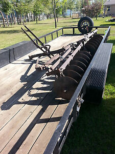 Antique Disc Harrow