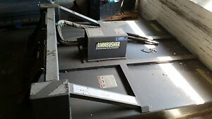 Ammbusher 72 Skid Steer Attachment Rotary Mower Cutter