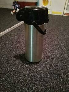Choice Brand 2 5 Liter Stainless Steel Airpot W Lever set Of 4