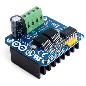 Semiconductor Bts7960b Stepper Motor Driver 43a H bridge Drive Pwm For Arduino