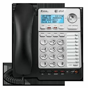 At t Ml17928 Ml17929 2 Line Office Phone Caller Id Speaker Conference Hs Jack