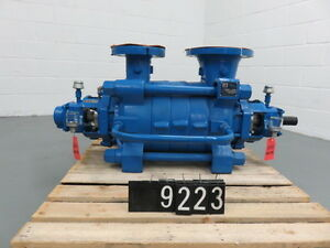 Sulzer Multistage Pump Type Mb 100 280 4 Rebuilt To New Sku P9223