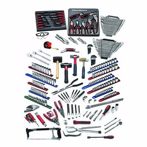 Huge Gearwrench 258pc Intermediate Auto Tech Mechanic Tep Master Tool Set 83095