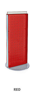 New Retails Red Non revolving Pegboard Counter Display 8 w X 20 h